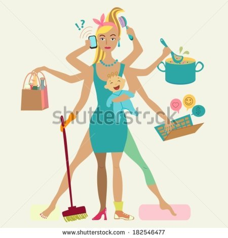 Cleaning Woman Stock Vectors, Images & Vector Art.
