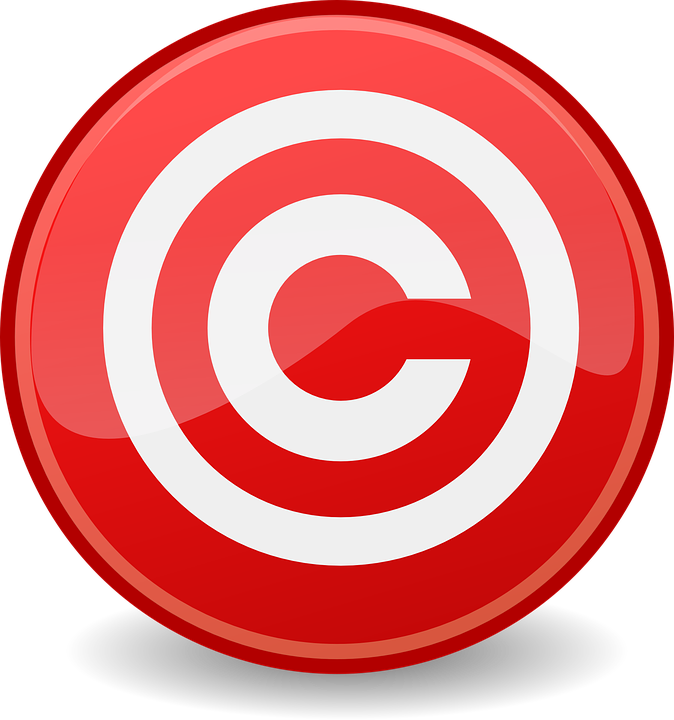 Kostenlose Vektorgrafik: Urheberrecht.