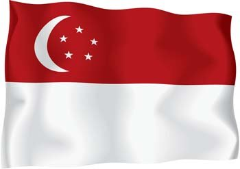 Free Singapore Flags Clipart and Vector Graphics.
