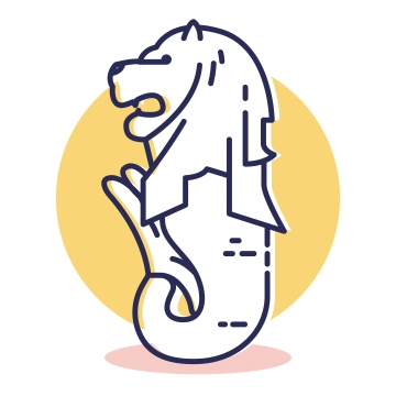 Merlion Png, Vector, PSD, and Clipart With Transparent.