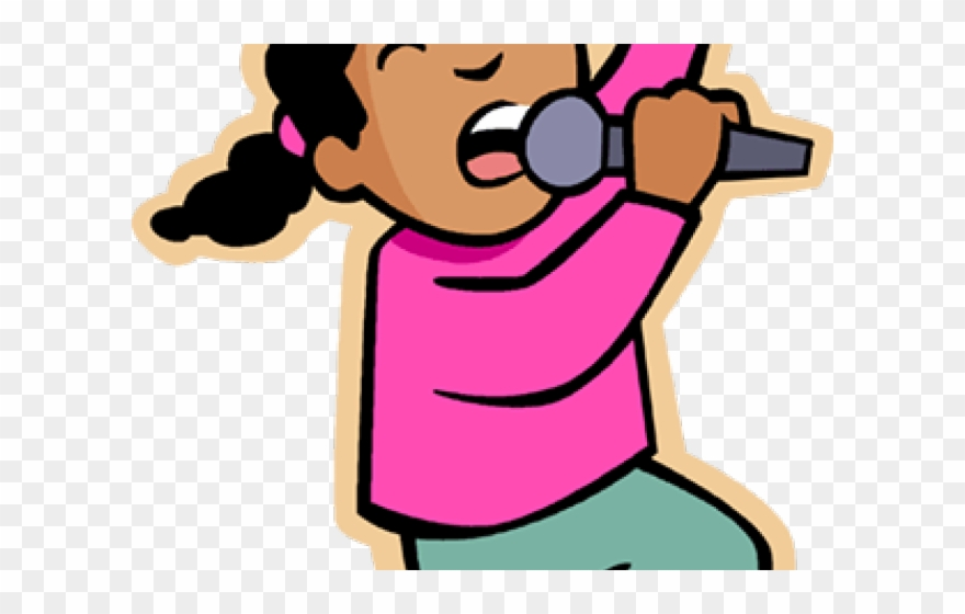 Singing Clipart Indian Singer.
