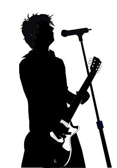Music Singer Clipart.