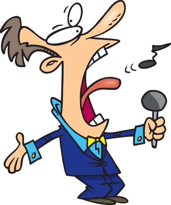 Singer Clipart.