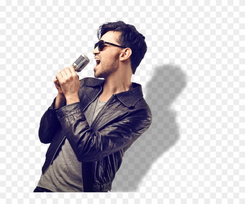 Man Singing Png.