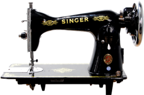 Singer Sewing Machine Model 15CD.