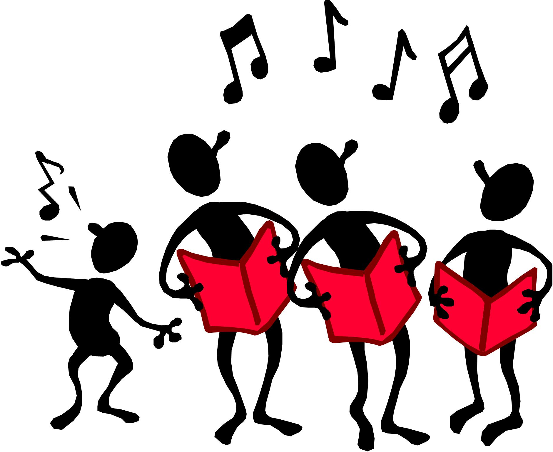 Choir Singing Clip Art Free N2 free image.