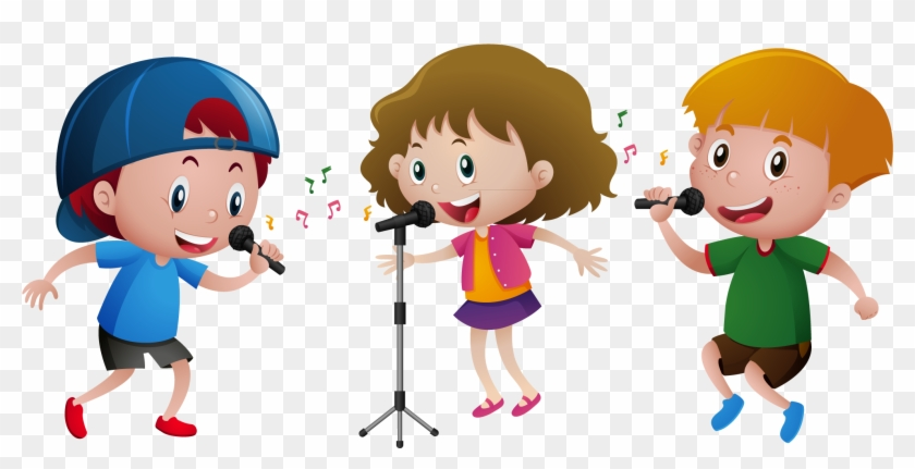 28 Collection Of Children Singing Clipart Png.