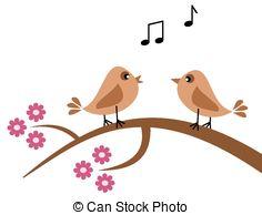Singing birds Vector Clipart EPS Images. 2,696 Singing birds clip.