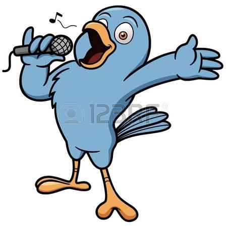 2,656 Singing Bird Stock Vector Illustration And Royalty Free.