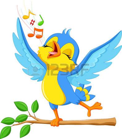 2,588 Singing Bird Stock Vector Illustration And Royalty Free.