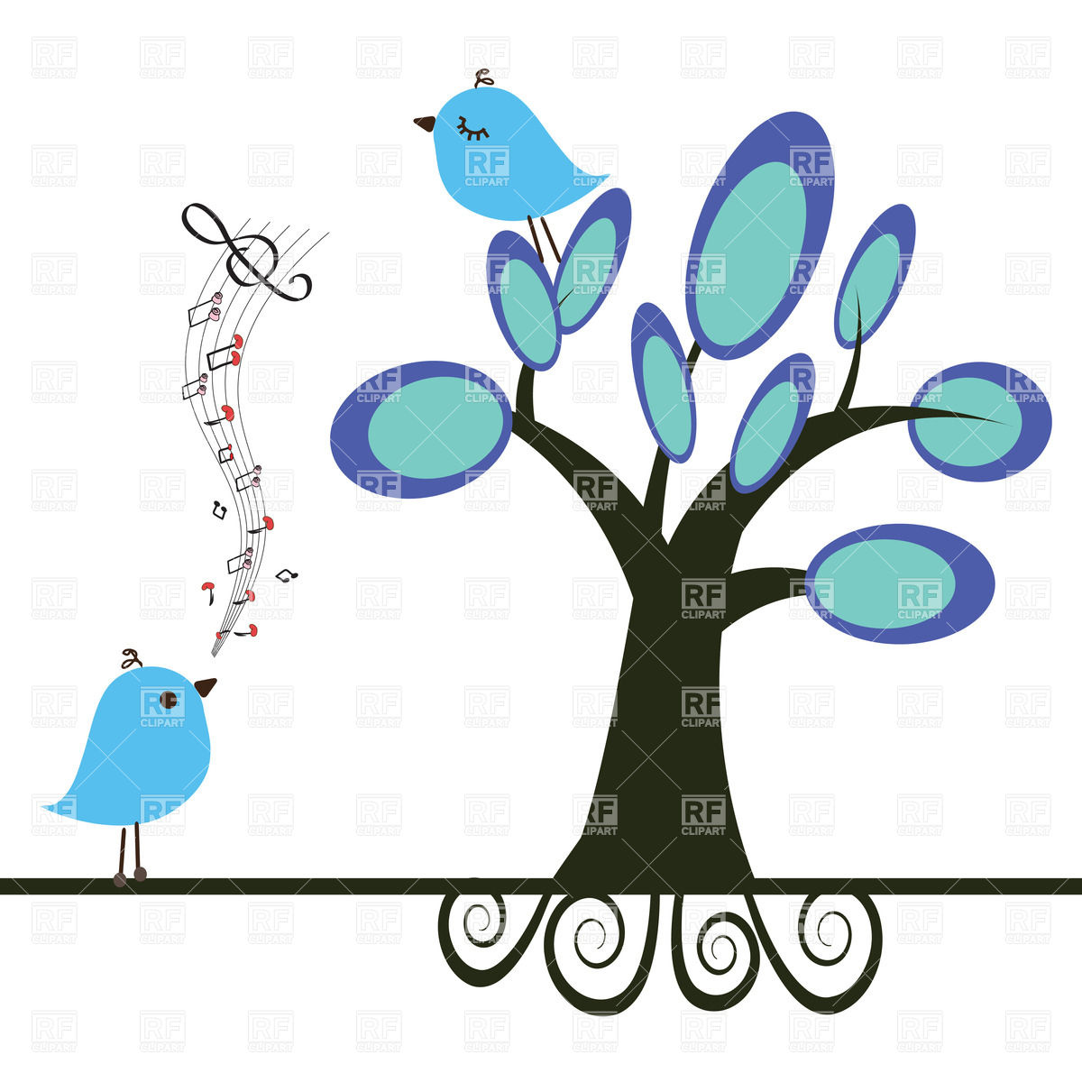 Singing birds clipart 20 free Cliparts | Download images ... (1200 x 1200 Pixel)