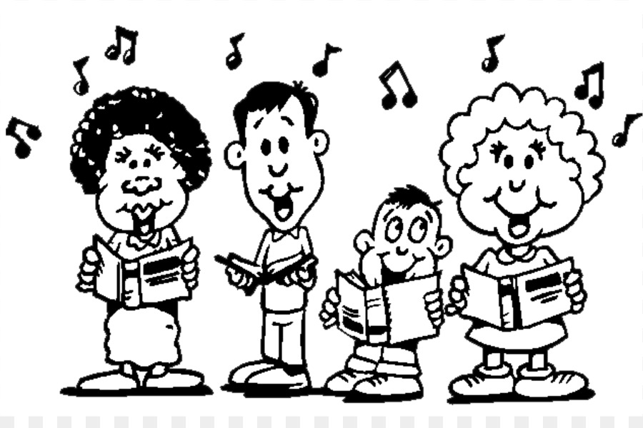 Choir Png Black And White & Free Choir Black And White.png.