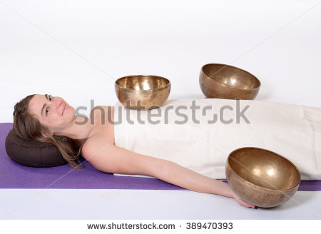 Sound Massage Stock Photos, Royalty.