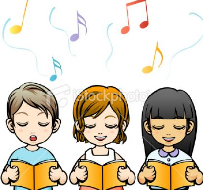 Singing Class Clipart.