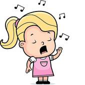 Sing clipart.