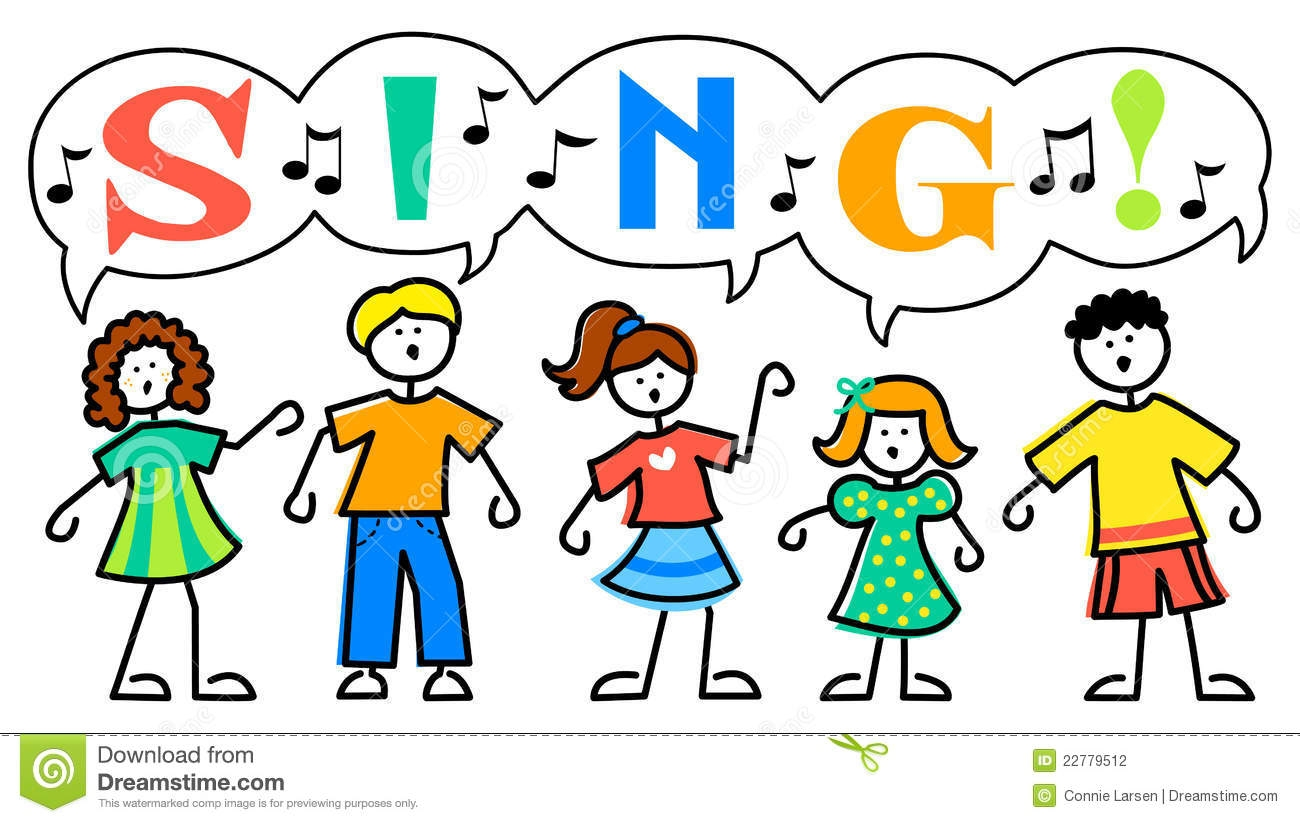 Kids Singing Clipart & Kids Singing Clip Art Images.