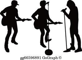 Singing Group Clip Art.