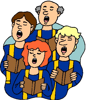 Hymn Sing Cliparts.