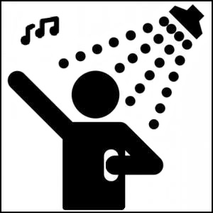 Shower Singing Class.