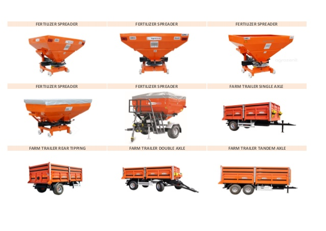 Farm equipment product li̇st.