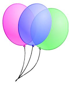 Single Balloon Clipart.