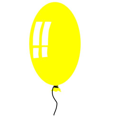 Free Birthday Balloon Clipart.