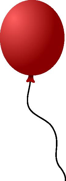 Single Balloon Clip Art at Clker.com.