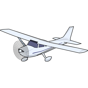 Cessna Airplane Clipart.