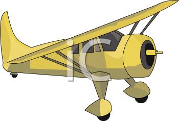 Single Engine Airplane.