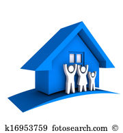 Single family home Clipart and Stock Illustrations. 370 single.