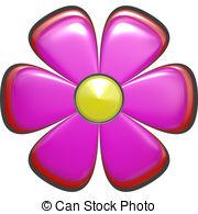 Single flower Stock Illustration Images. 20,135 Single flower.