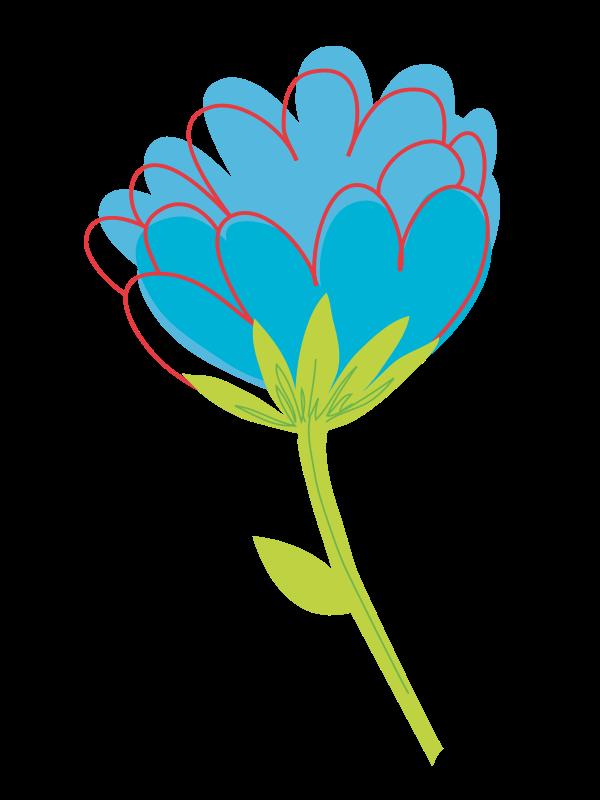 Single Flower Clipart.