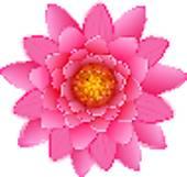 Single Flower Clip Art.