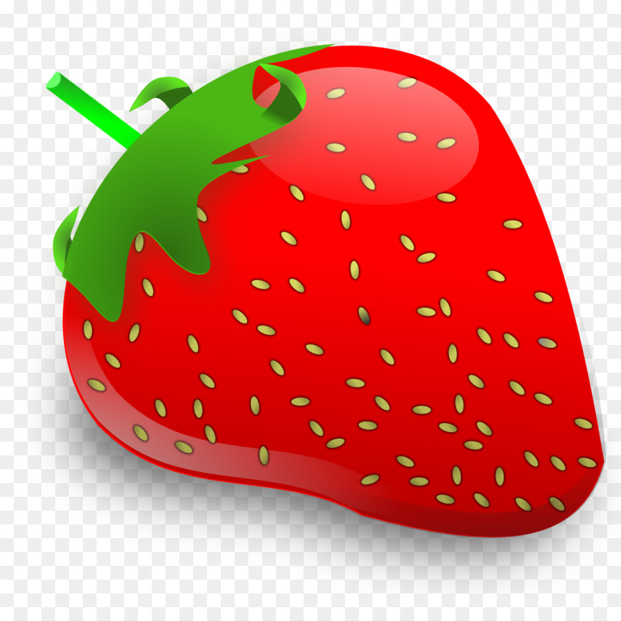 Strawberry Cartoon clipart.