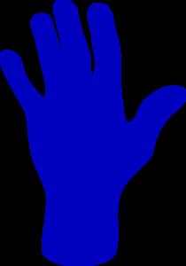 Similiar Blue Hand Keywords.