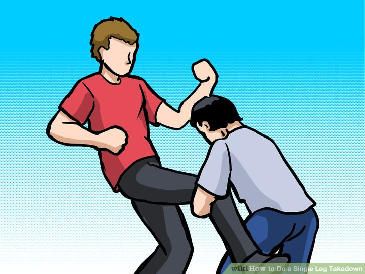 How to Do a Single Leg Takedown: 5 Steps (with Pictures).