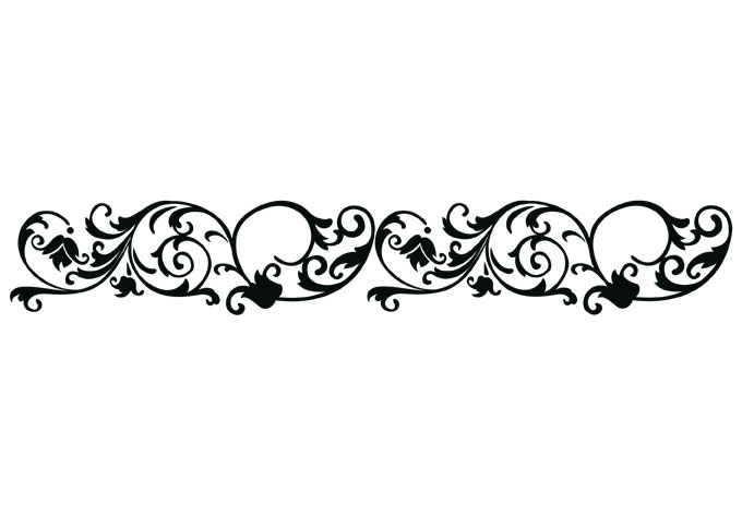 Single line border clipart 2 » Clipart Station.