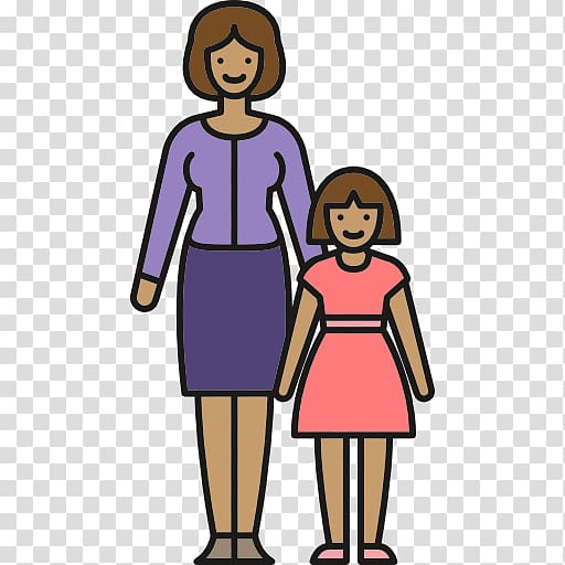 Mother Family Single parent , family transparent background.