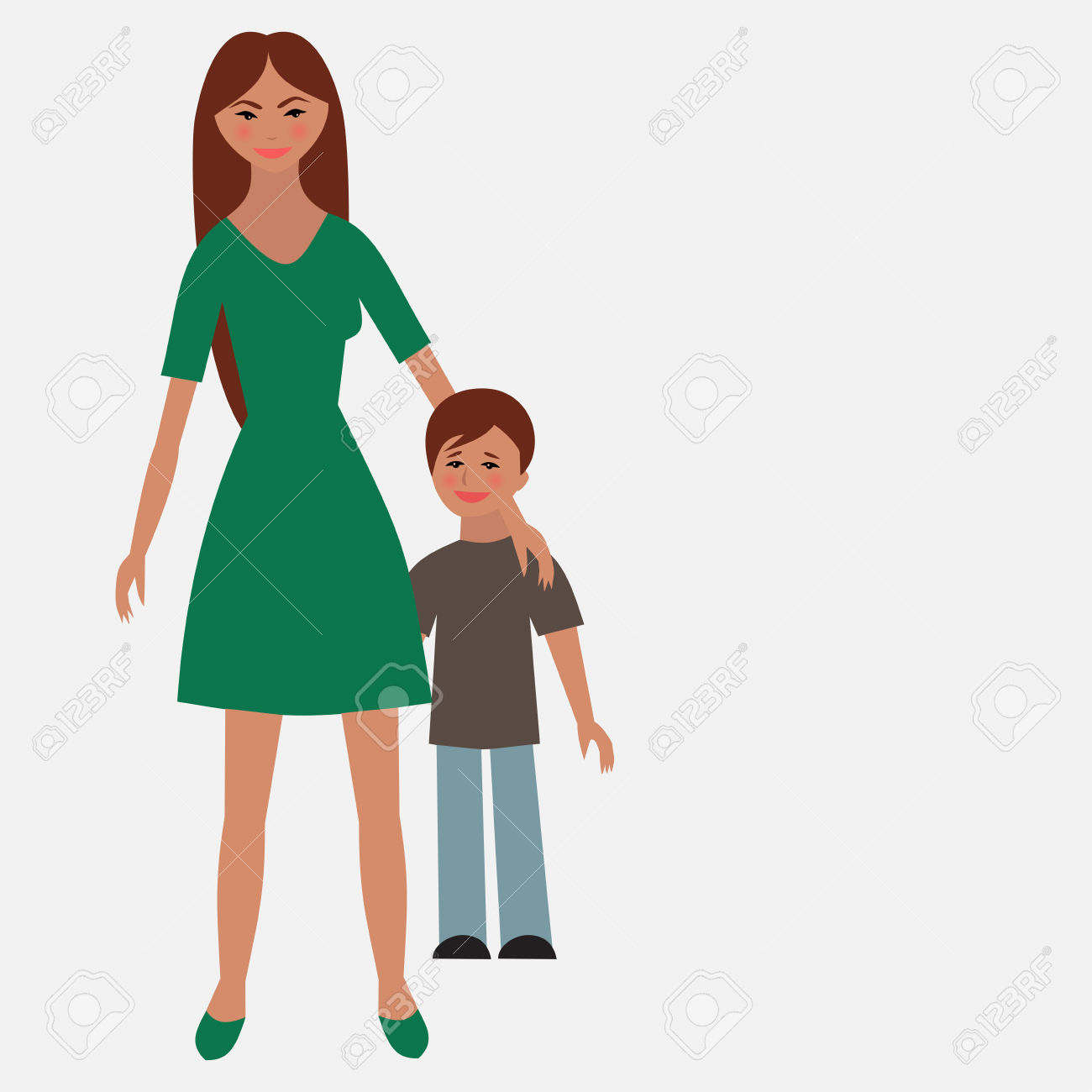 Single Mother Clipart.