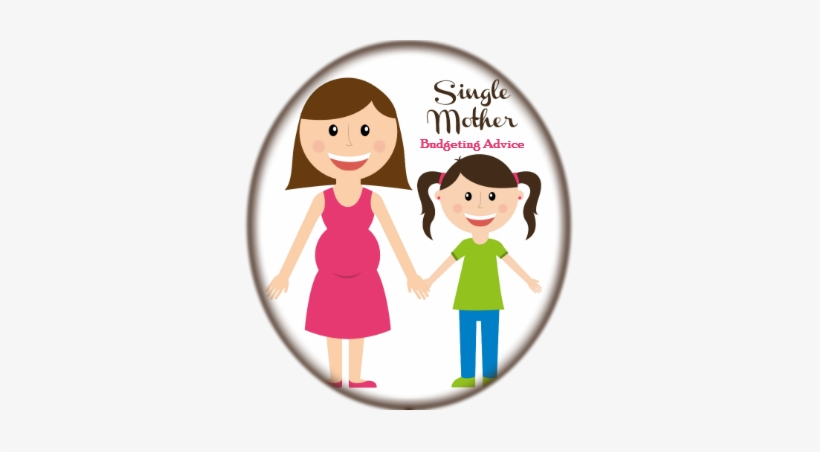 Single Mother Budgeting Advice Badge.