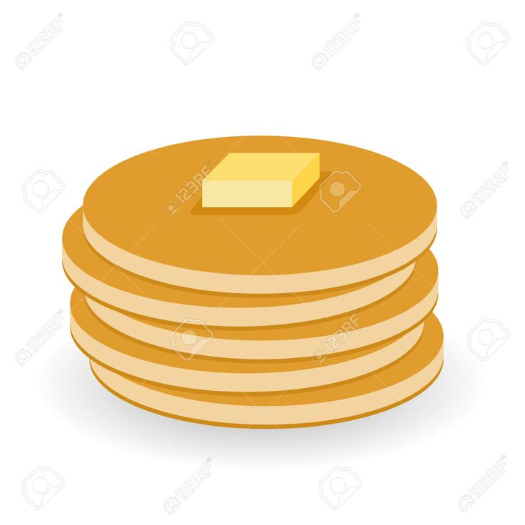 Free Clipart Pancake Breakfast.