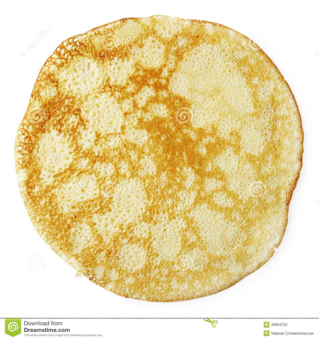 Single pancake clipart 2 » Clipart Portal.