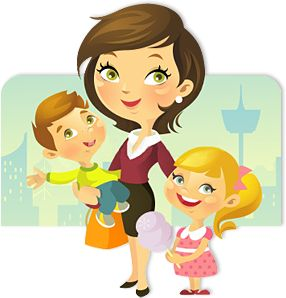 Showing post & media for Single parent family cartoon.