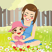 Single parent Clip Art Vector Graphics. 824 single parent EPS.