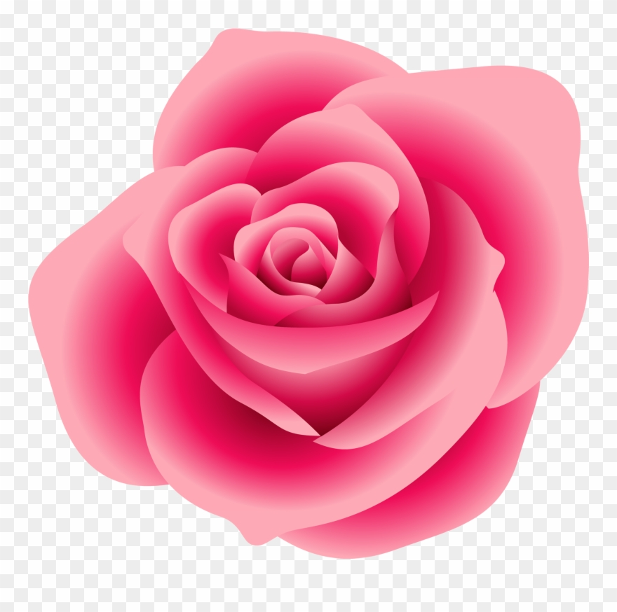 Rose Clipart Image Clip Art Illustration Of A Single.