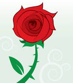 Single rose Clipart EPS Images. 5,003 single rose clip art vector.