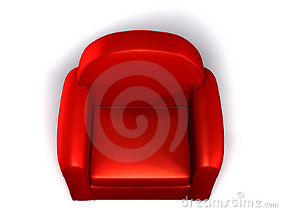 Single Seat Sofa Royalty Free Stock Photo.