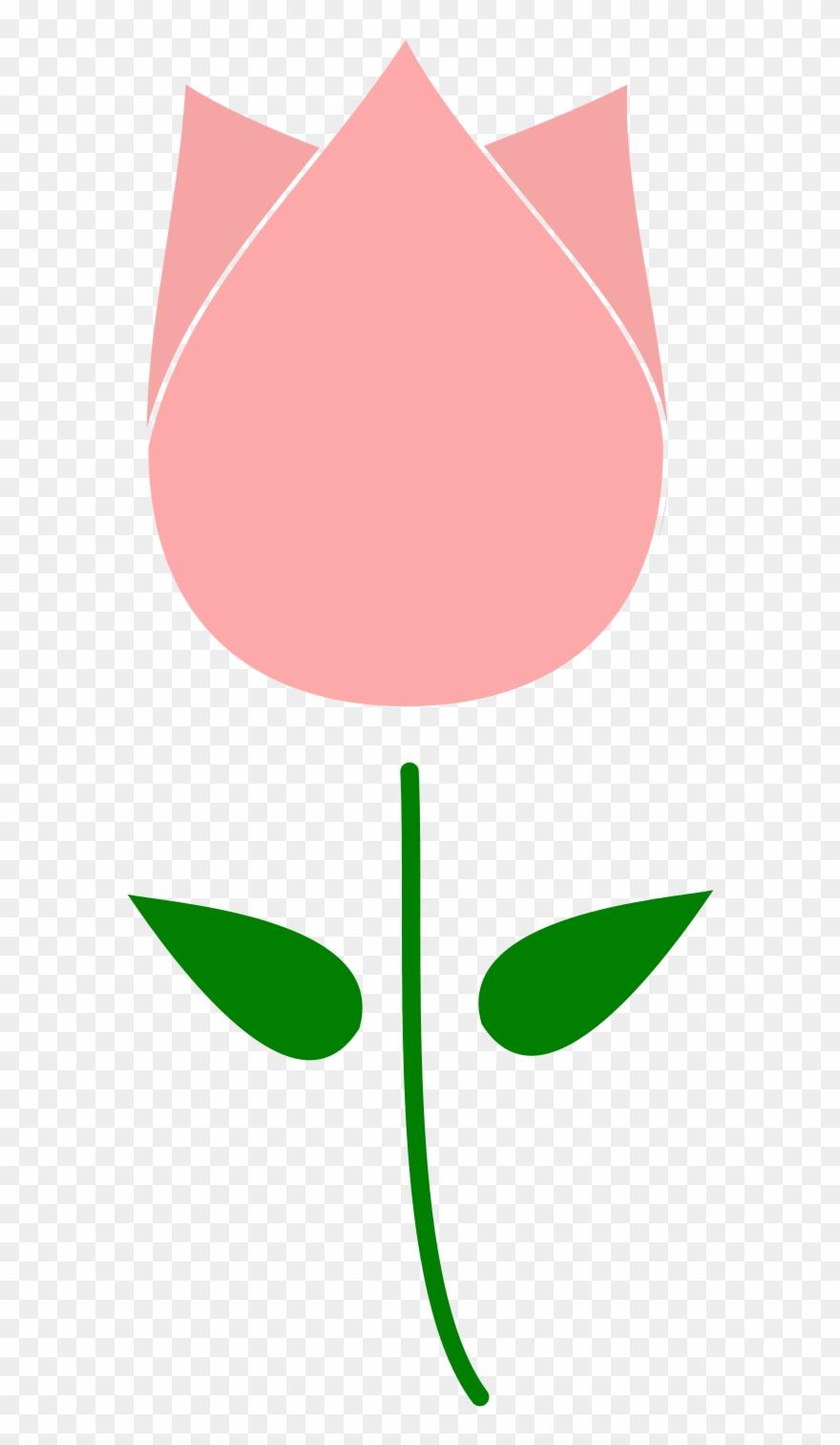 Clipart Tulip Flower.