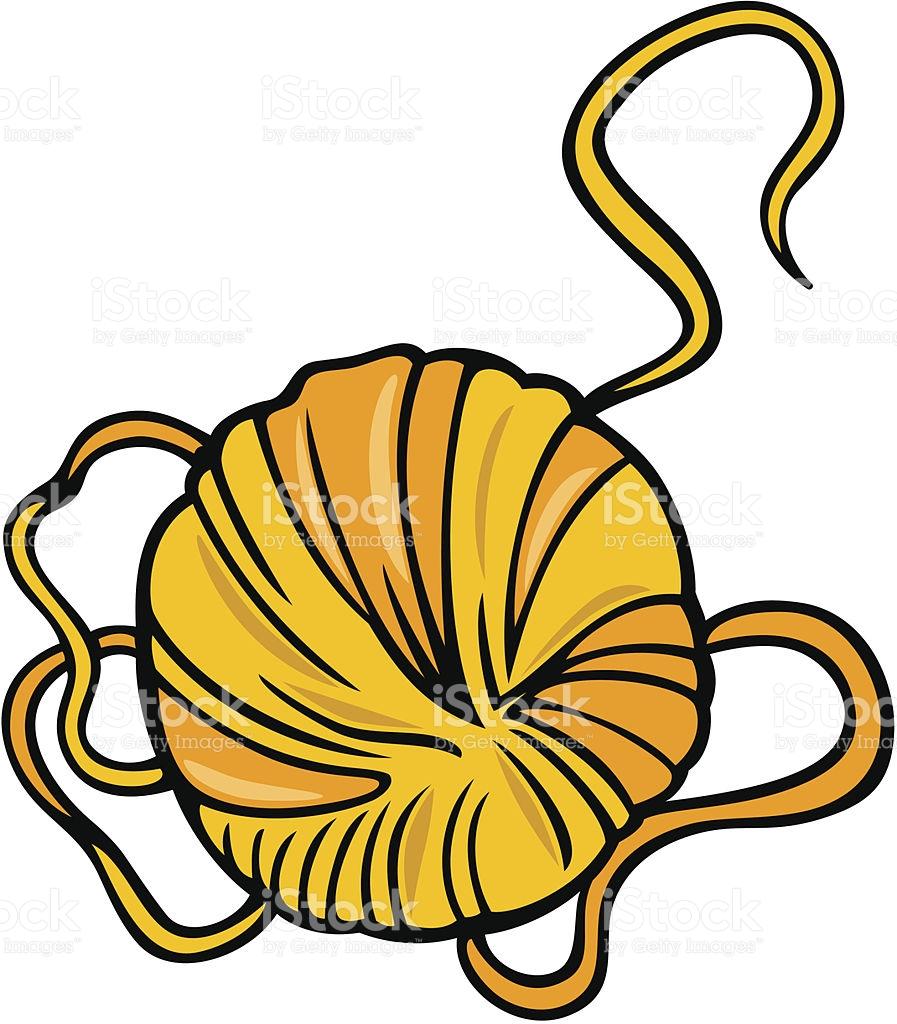 Yarn Clip Art Cartoon Illustration stock vector art 177578482.