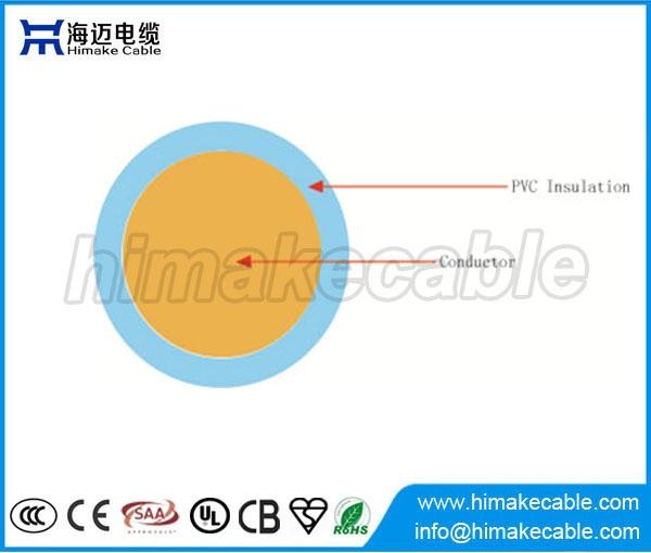 Single core PVC insulated strand copper electric wire 300/500V 450.
